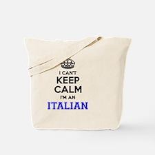 Cute I am italian but Tote Bag