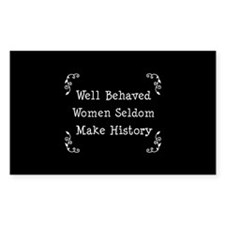 Cute Strong woman Decal
