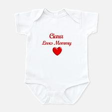 Ciara Loves Mommy Infant Bodysuit