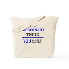 Unique Juggernaut Tote Bag