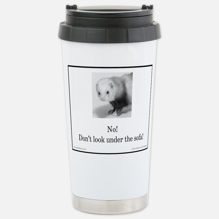 Cute Ferret owner Travel Mug