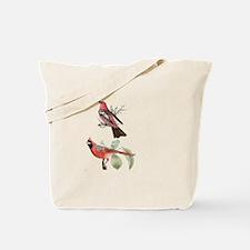 Cardinal and Mate Tote Bag