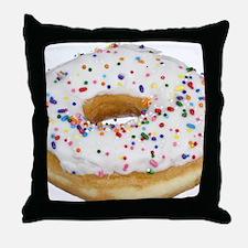 Cute Doughnut Throw Pillow