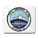 USS GREGORY Mousepad