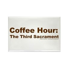 Coffee Hour Rectangle Magnet (10 pack)