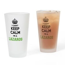Funny Lazaro Drinking Glass
