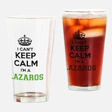 Funny Lazaros Drinking Glass