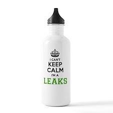 Cute Leaks Water Bottle