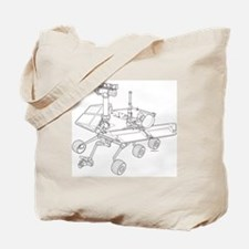 Rover Drawing Large Tote Bag
