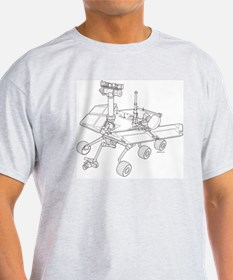 Rover Drawing Large T-Shirt