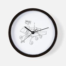 Rover Drawing Large Wall Clock