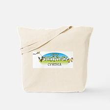 Happy B-Day Cynthia (farm) Tote Bag