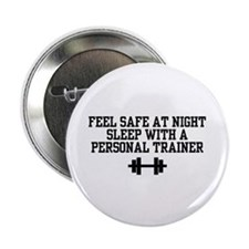 Feel Safe Personal Trainer Button