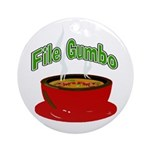 Gumbo Round Ornament