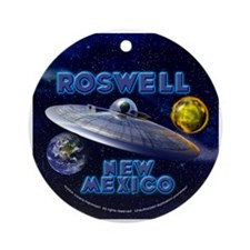 Roswell UFO Alien Ornament