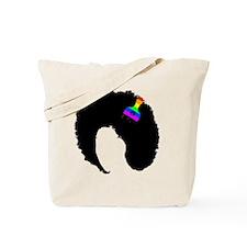 Unique Afro art Tote Bag
