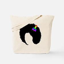 Cute Black woman Tote Bag
