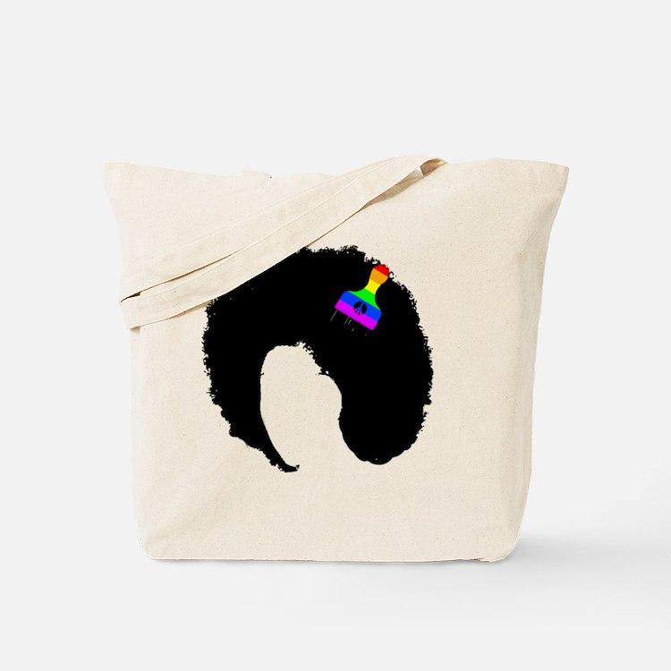 Cute Nappy hair Tote Bag