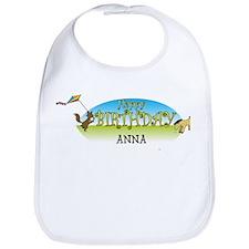 Happy B-Day Anna (farm) Bib