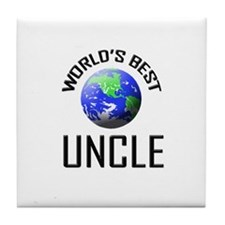World's Best UNCLE Tile Coaster