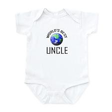 World's Best UNCLE Infant Bodysuit