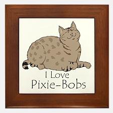 Happy Pixie-Bob Framed Tile