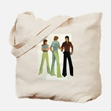1970s vintage men Tote Bag