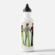 1970s vintage men Water Bottle