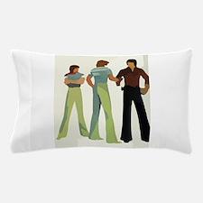1970s vintage men Pillow Case