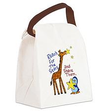 Unique Baby giraffe Canvas Lunch Bag