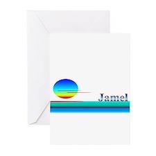 Jamel Greeting Cards (Pk of 10)