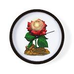 Rose & Universe Wall Clock