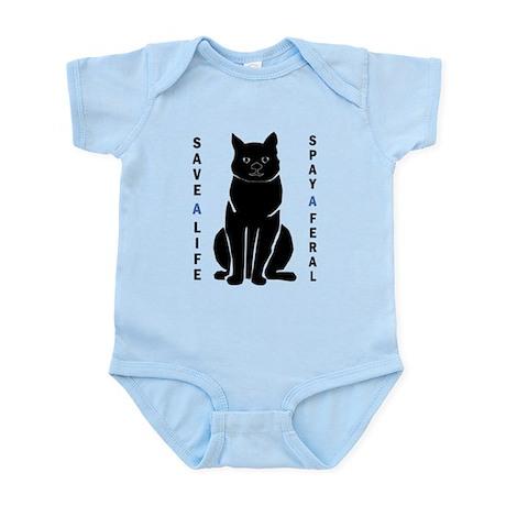 Spay A Feral Infant Bodysuit