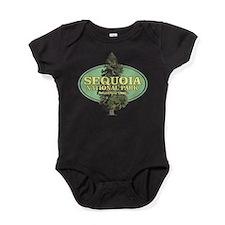 Cute Sierra nevada Baby Bodysuit