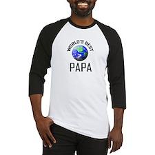 World's Best PAPA Baseball Jersey