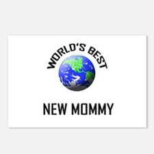 World's Best NEW MOMMY Postcards (Package of 8)