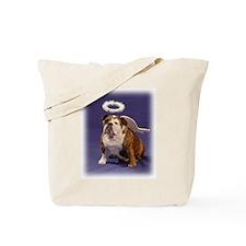 Chubby Angel-Blue Tote Bag