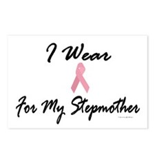 I Wear Pink For My Stepmother 1 Postcards (Package