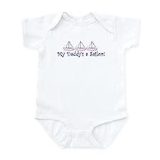 Daddy's a Sailor (girl) Infant Bodysuit