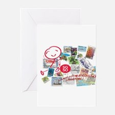 SG50-Singapore's 50th Bd Greeting Cards (Pk of 10)