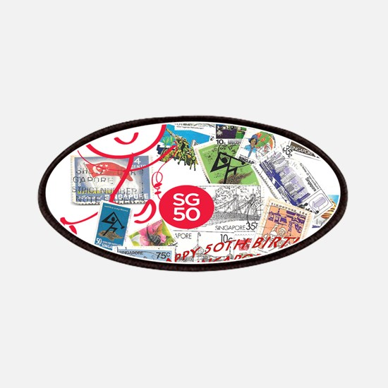 SG50-Singapore's 50th Bday! Patches