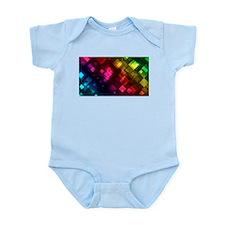 ombre square rainbow Body Suit