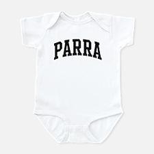 PARRA (curve-black) Infant Bodysuit