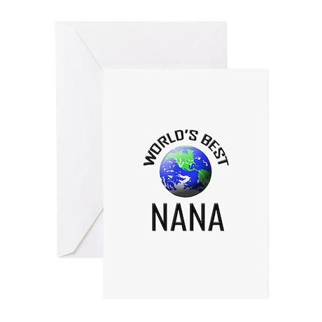 World's Best NANA Greeting Cards (Pk of 10)