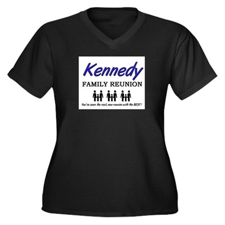 Kennedy Family Reunion Women's Plus Size V-Neck Da