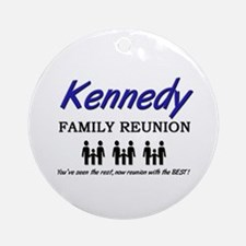 Kennedy Family Reunion Ornament (Round)