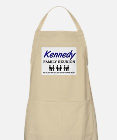 Kennedy Family Reunion BBQ Apron