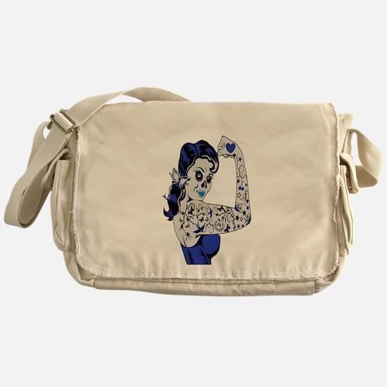 SUGAR STRONG Messenger Bag