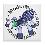 Anime: MediaMiner Spider logo Tile Coaster