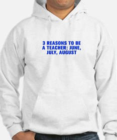 3 reasons to be a teacher June July August-Akz blu